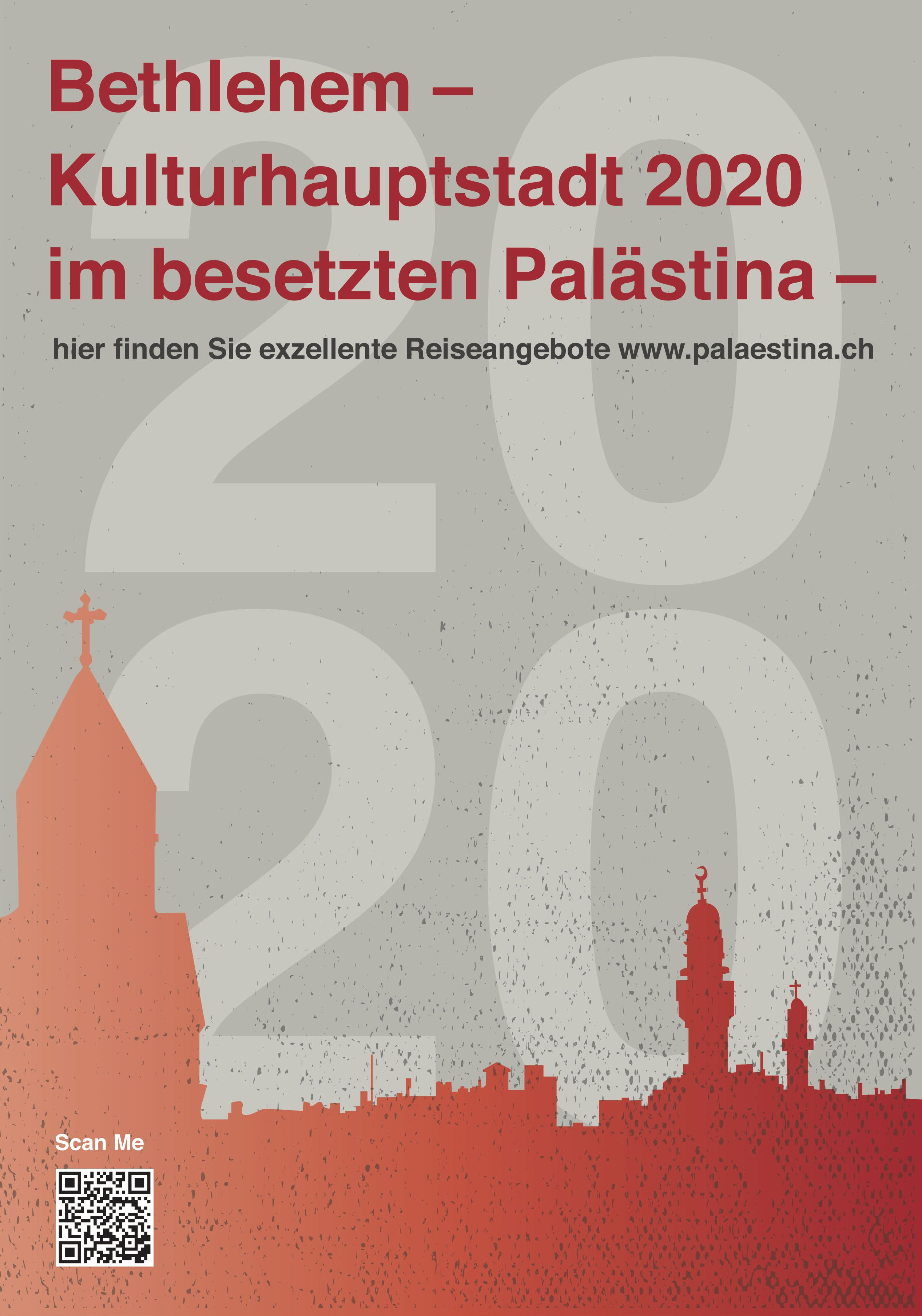 Bethlehem 2020 Plakat de