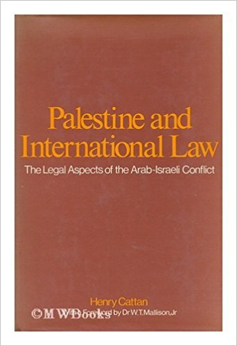 Cattan Palestine and International Law
